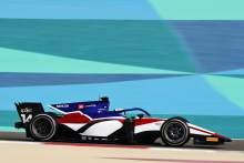 Rookie David Beckmann Tercepat di Hari Pertama Tes F2