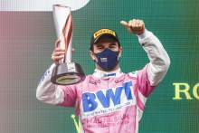 'I'm at my peak' in F1, says out of contract Perez after first podium of 2020