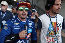 Alonso pergi untuk memperebutkan tempat Indy 500 setelah sesi kualifikasi yang sulit