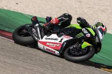 Rea finishes final Aragon pre-season test fastest for Kawasaki