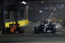 'Very hard' to beat Ferrari at remaining races - Hamilton