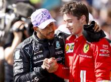 """Hamilton: """"Respectful"""" Leclerc showed how racing should be done at Copse"""
