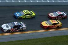 Daytona国际赛道的焦炭零400  - 启动阵容