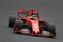 Vettel takes fifth Suzuka pole in windy Japan qualifying