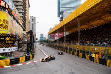 Macau GP under red flag after high-speed Flörsch crash