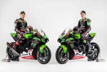 FIRST LOOK: Jonathan Rea and Alex Lowes present 2021 Kawasaki