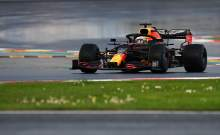 Max Verstappen's F1 Turkish GP hampered by front wing adjustment error