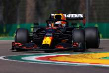 Verstappen four-tenths clear of Norris in final F1 practice at Imola