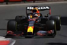 Verstappen leads Ferraris in Baku opening practice