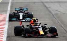 """Perez 'couldn't breathe' during Hamilton duel in """"exhausting"""" F1 race"""
