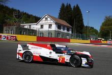 Toyota mengunci barisan depan Spa WEC, Alonso P2