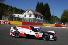 Toyota locks out Spa WEC front row, Alonso P2