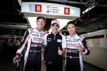 Hartley, Nakajima memimpin Toyota 1-2 di kualifikasi Fuji WEC