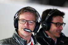 """Technical twin brother"" Allison doesn't want Mercedes F1 team boss role - Wolff"