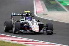 Smolyar claimes maiden F3 pole in wet Hungary qualifying