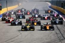 F2 dan F3 akan mengadakan tiga balapan per akhir pekan secara terpisah di putaran yang lebih sedikit pada tahun 2021