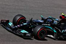 Bottas denies Mercedes teammate Hamilton 100th F1 pole in Portugal