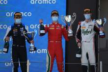 Caldwell inherits first Formula 3 victory in chaotic second Spain sprint race