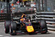 Lawson takes Monaco F2 sprint race two victory in damp conditions
