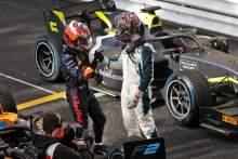 劳森从第二皑皑的F2 Sprint Race中取消资格,Ticktum继承了胜利