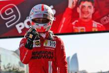 Leclerc claims second straight F1 pole in crazy Baku qualifying