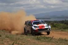 "Evans wants to ""close that gap"" to Ogier at WRC Estonia"