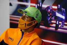 "Ricciardo explains ""shit"" comment during launch of 2022 F1 car"