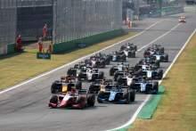 Formula 2 & Formula 3 calendars announced for 2022
