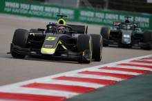 Ticktum dominates damp Formula 2 sprint race in Sochi
