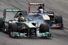 Hamilton has 'built his luck' in F1 with hard work and trust - Vergne