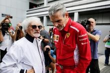 'Jika Ferrari ingin meninggalkan F1, mereka harus melakukannya' - Ecclestone
