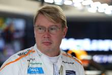 F1 champion Hakkinen teams up with Bottas for Race of Champions