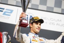 McLaren adds F2's Camara to F1 Young Driver Programme