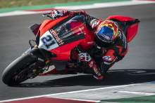Ducati enjoy positive test at Misano with Rinaldi quickest