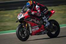 Rinaldi second fastest for Ducati at MotorLand Aragon test