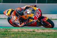 VIDEO: Aksi Marc Marquez Menggeber RC213V-S di Barcelona