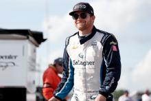 Conor Daly on top in Gateway night practice, Kimball crashes