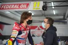 Federal Oil Gresini Racing endure mixed Moto2 test in Portimao