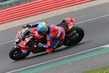 Brookes and Iddon fast for Ducati at Silverstone BSB test