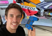 Alex Marquez赢得了第一场MotoGP虚拟赛车