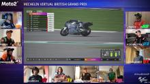 Results: Moto2 Virtual British Grand Prix