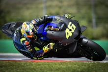 Rossi talks 'first touch' with 2020 Yamaha