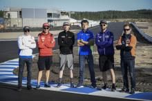 MotoGP prepares for KymiRing test