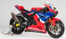 Honda memamerkan warna World Superbike 2020