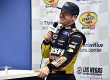 Clint Bowyer annoyed with Erik Jones after last-lap jostle