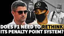 Apakah F1 perlu memikirkan kembali sistem poin penalti setelah giliran Lewis Hamilton U-turn?