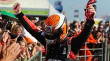 Morgan 'over the moon' with Thruxton victory