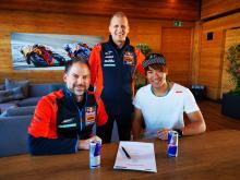 Moto2: Nagashima bergabung dengan Martin di KTM Ajo