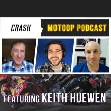 Crash.net MotoGP podcast with Keith Huewen: Special guest Michael Laverty
