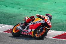 Marc Marquez: Great feeling to be returning to MotoGP